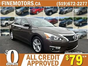 2015 NISSAN ALTIMA * NAV * REAR CAM * CAR LOANS FOR ALL CREDIT
