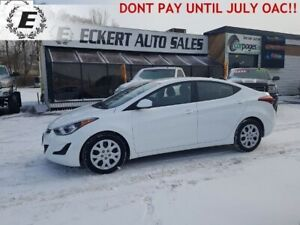 2016 HYUNDAI ELANTRA SE   DO NOT PAY UNTIL JULY OAC!!