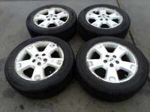 4 Goodyear Tires with Rims for Ford Vehicles