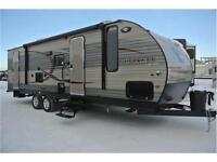 274 Cherokee w/Double Bunks Large Slide Weighs Under 6400 lbs.