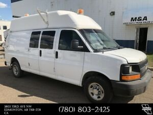 2008 Chevrolet Express Cargo 2500 High Roof Van 6.0L Gas