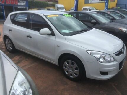 2010 Hyundai i30 White 4 Speed Automatic Hatchback North Hobart Hobart City Preview