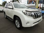 2016 Toyota Landcruiser Prado GDJ150R VX White 6 Speed Sports Automatic Wagon Oakleigh Monash Area Preview