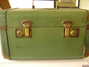 Antique Small Luggage/Makeup Bag