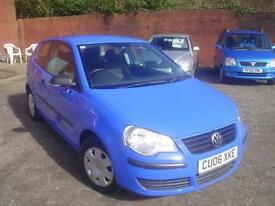2006 Volkswagen Polo 1.2 ( 55PS ) E+Full VW service 8 stamps+low miles 65k