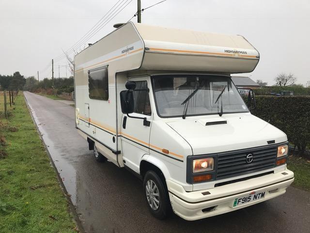 Talbot EXPRESS 1300 P Motorhome 4 Berth