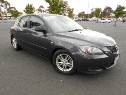 2005 Mazda 3 BK Neo Grey 5 Speed Manual Hatchback Maidstone Maribyrnong Area Preview