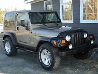 2004 Jeep TJ Rubicon Coupe (2 door)