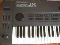 Roland JX10 (Super JX) synthesizer and semi-flight case