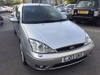 2003 Ford Focus ST, starts and drives very well, 1 years MOT (runs out September 2017), half leather