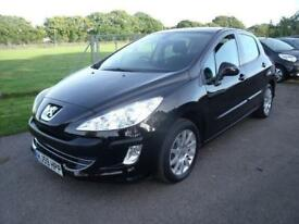 PEUGEOT 308 VERVE, Black, Manual, Petrol, 2009