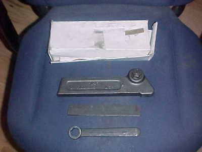 Nib Williams Th 25 Lathe Parting Tool Holder With Blade Wrench Cut Off Usa