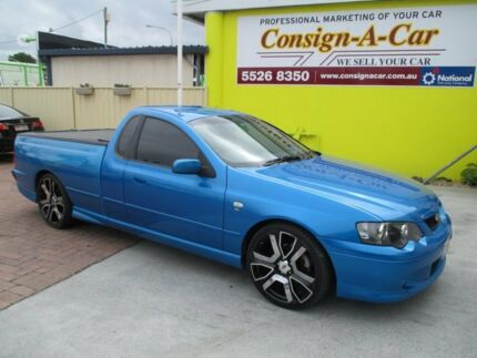 2003 Ford Falcon BA XR6 Ute Super Cab Blue 4 Speed Sports Automatic Utility