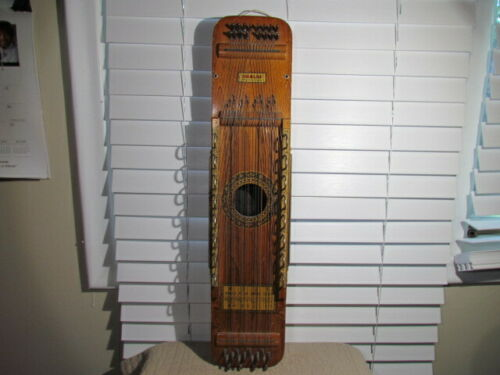 Vintage UKELIN Zither International Musical Corp Hoboken NJ