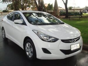2012 Hyundai Elantra MD Active White 6 Speed Sports Automatic Sedan Broadview Port Adelaide Area Preview