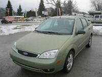 2007 Ford Focus SES LOW KM LOCAL 1 OWNER