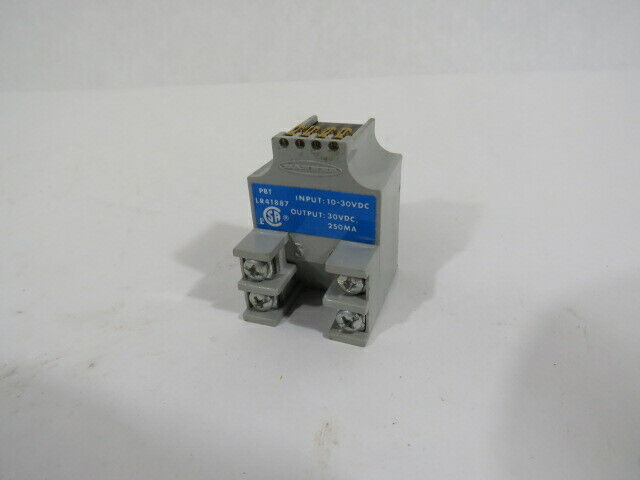 Banner PBT Multi-Beam DC Power Block 10-30VDC NPN Output 3-Wire  USED