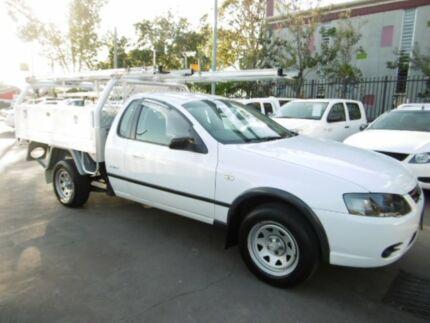 2007 Ford Falcon BF MkII RTV White 4 Speed Auto Seq Sportshift Cab Chassis Bankstown Bankstown Area Preview