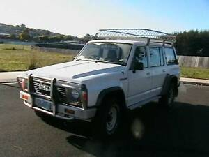 1990 Nissan Patrol Wagon Very LOW  KLM`S 7 seater Duel Fuel Hobart CBD Hobart City Preview