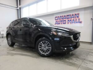 2018 Mazda CX-5 GS AWD, ROOF, HTD. LEATHER, BT, CAM, 24K!