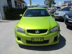 2008 Holden Commodore VE SV6 Green 5 Speed Automatic Sedan North Parramatta Parramatta Area Preview