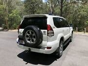 2008 Toyota Landcruiser Prado KDJ120R VX White Automatic Wagon Underwood Logan Area Preview