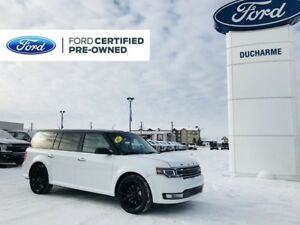 2017 Ford Flex Limited, AWD, Leather, NAV, R/Start, Vista Roof,