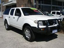 2008 Nissan Navara D40 RX (4x4) White 6 Speed Manual Wangara Wanneroo Area Preview