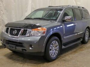 2015 Nissan Armada Platinum Edition 4WD w/ Captain Chairs, DVD,