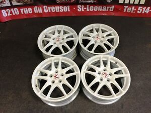 JDM HONDA ACURA RSX DC5 WHITE OEM TYPE-R MAGS ONLY 5X114.3 17INC