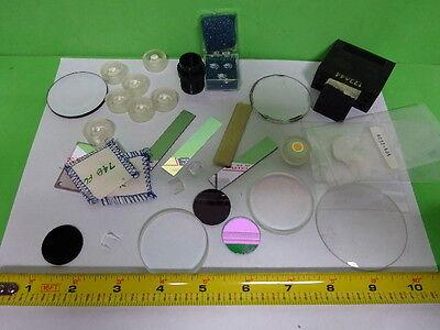 Lot Optical Lenses Prism Mirror Mil Spec Laser Optics As Is Aq-37