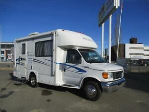 **$288 b/w (oac)** 21' MOTORHOME SLEEPS 4, JUST 69,167 kms!