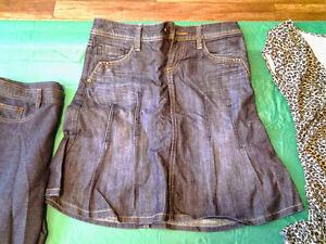 jupe en jeans taille 26
