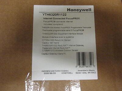 Honeywell Wireless Progr. Focuspro 6000 3h2c Thermostat - Yth6320r1122