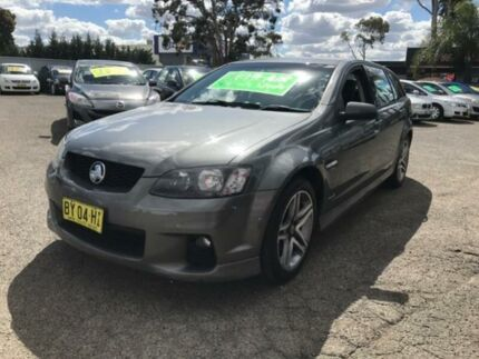 2011 Holden Commodore VE II SV6 Grey 6 Speed Automatic Sportswagon Lansvale Liverpool Area Preview