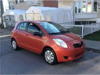 2008 TOYOTA YARIS- manuel- ECONOMIC- AUBAINE 1,5L-  2700$