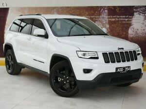 2014 Jeep Grand Cherokee WK MY15 Laredo White 8 Speed Sports Automatic Wagon Collingwood Yarra Area Preview