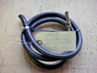 Mercruiser -- 4.3L  --  Power Steering Line -- 1992