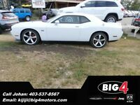 2014 Dodge Challenger SRT8 WHITE! BRAND NEW BLOW OUT!