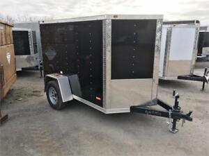 Contractor Grade Cargo Trailers - Garageable!