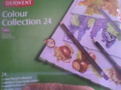 Derwent Colour Collection (Derwent Colour Collection Tin Set of 24 new sealed free)