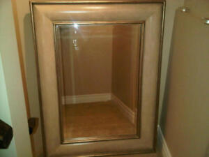 Large decorative mirrors set of two