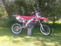 2002 honda CR250 mint