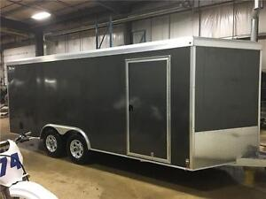 2017 Triton Vault VC-818R 8x18+3' V-Nose **3 Colors in Stock**