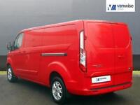 2013 Ford Transit Custom 290 LIMITED LR P/V Diesel red Manual