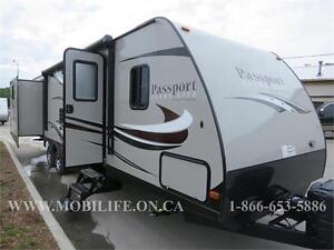 BLOWOUT CLEARANCE PRICING! 2016 PASSPORT 3290BH SAVE $!!!
