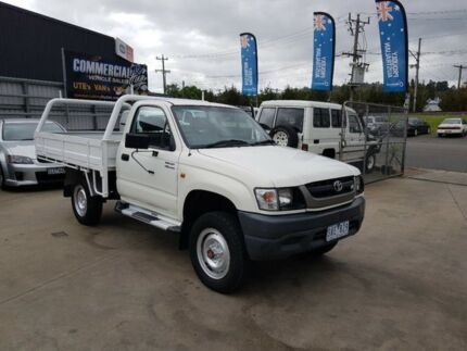 2003 Toyota Hilux VZN167R (4x4) 5 Speed Manual Cab Chassis Lilydale Yarra Ranges Preview