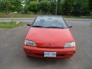 1991 Pontiac Firefly Convertible