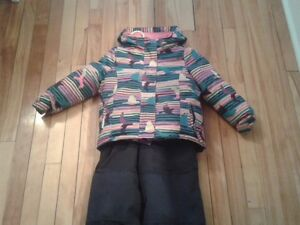 manteau d'hiver fille 3 ans /Girl winter suit 3 years Gatineau Ottawa / Gatineau Area image 1