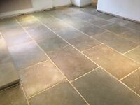 Regency natural stone paving extremely durable in Buff, Grey or Black